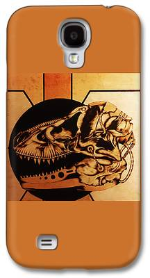 Pyrography Galaxy S4 Cases