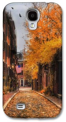 Autumn Scene Galaxy S4 Cases