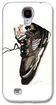 Nike Drawings Galaxy S4 Cases
