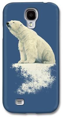 Polar Bear Galaxy S4 Cases