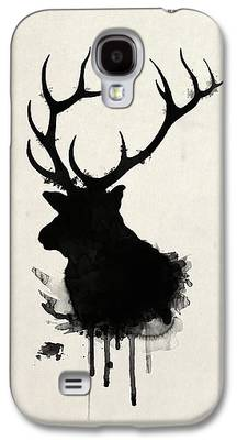 Hunting Drawings Galaxy S4 Cases