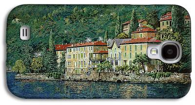 Lake Como Paintings Galaxy S4 Cases