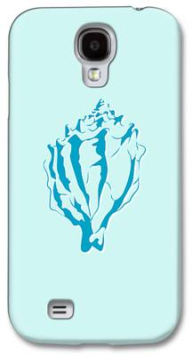 Aquatic Drawings Galaxy S4 Cases
