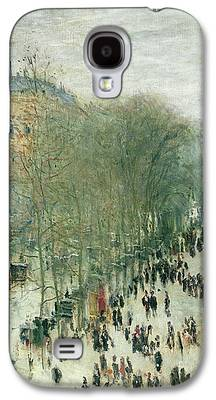 Crowds Paintings Galaxy S4 Cases