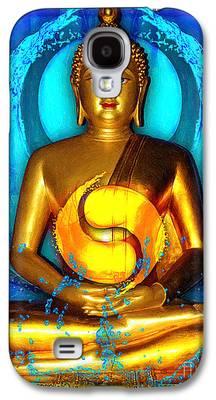 Statue Portrait Digital Art Galaxy S4 Cases