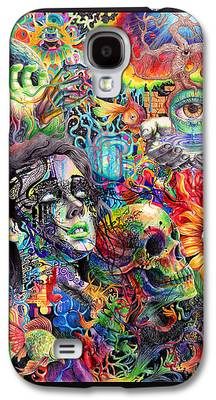 Trippy Paintings Galaxy S4 Cases