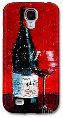 Wine Reflection Art Galaxy S4 Cases