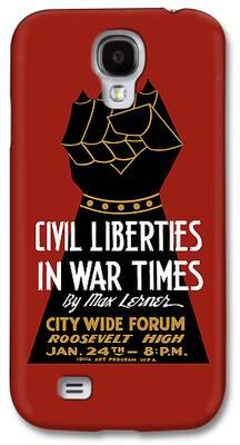 Civil Liberties Galaxy S4 Cases