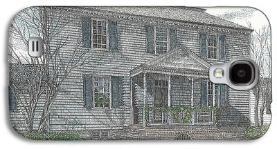 Carter House Drawings Galaxy S4 Cases