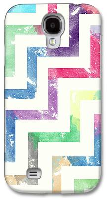Abstract Shapes Drawings Galaxy S4 Cases