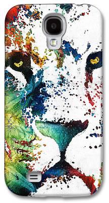 Kids Sports Art Galaxy S4 Cases