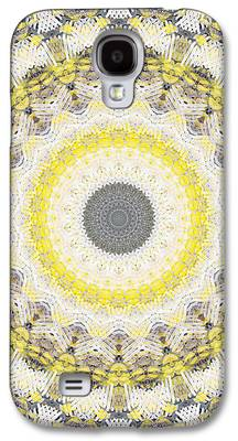 Industrial Mixed Media Galaxy S4 Cases