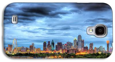 Dallas Skyline Galaxy S4 Cases