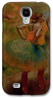 Dancers Wearing Green Skirts Galaxy S4 Cases