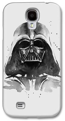 Black Paintings Galaxy S4 Cases