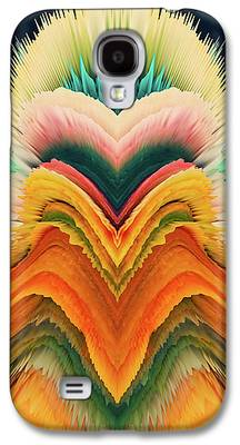 Algorithmic Abstract Galaxy S4 Cases