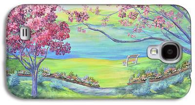 Warner Park Paintings Galaxy S4 Cases