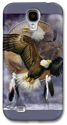 Eagle Mixed Media Galaxy S4 Cases