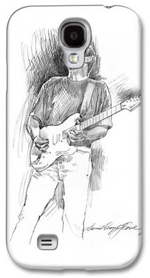 Fender Strat Drawings Galaxy S4 Cases