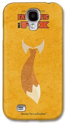 Fox Digital Art Galaxy S4 Cases