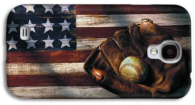 Baseball Art Galaxy S4 Cases