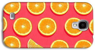Orange Galaxy S4 Cases