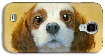 Dog Portrait Galaxy S4 Cases
