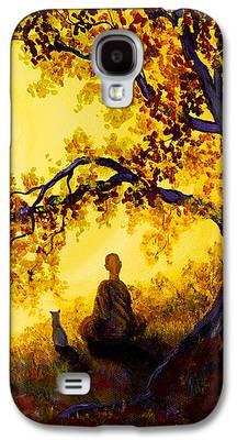 Buddhist Monk Galaxy S4 Cases