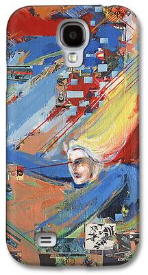 Supergirl Paintings Galaxy S4 Cases