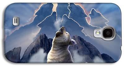 Animals Digital Art Galaxy S4 Cases