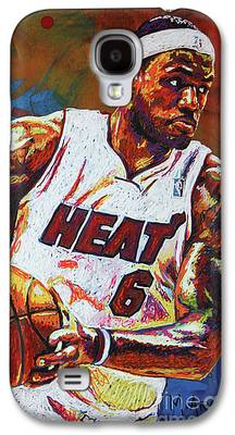 Lebron James Galaxy S4 Cases