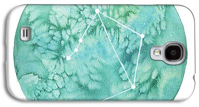 Zodiac Paintings Galaxy S4 Cases