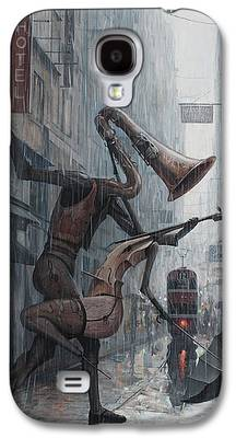 Surrealism Paintings Galaxy S4 Cases