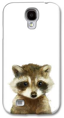 Raccoon Galaxy S4 Cases