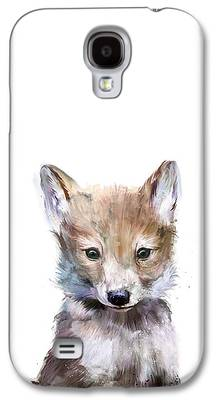 Wolf Galaxy S4 Cases