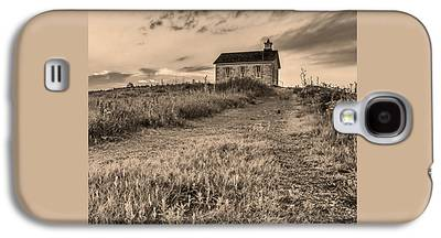 Old School House Photographs Galaxy S4 Cases