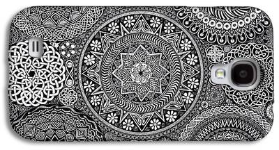 Pen Drawings Galaxy S4 Cases