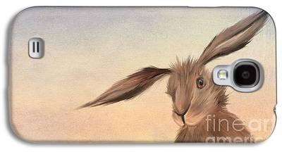 Rabbit Digital Art Galaxy S4 Cases
