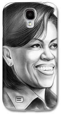 Michelle Obama Galaxy S4 Cases