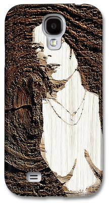 Mother Mary Digital Art Galaxy S4 Cases
