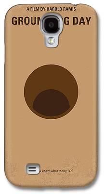 Groundhog Digital Art Galaxy S4 Cases