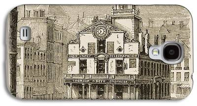 Historic Site Drawings Galaxy S4 Cases