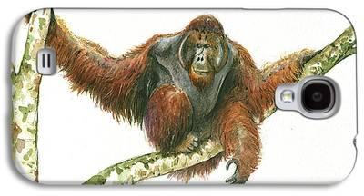 Orangutan Galaxy S4 Cases
