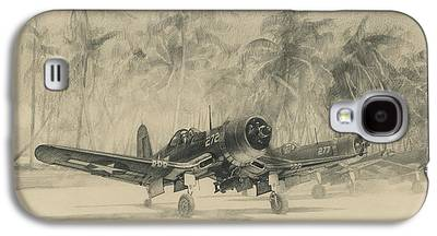 Aviator Drawings Galaxy S4 Cases