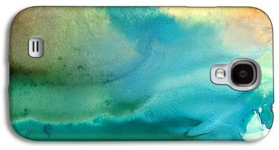 Blue Green Water Galaxy S4 Cases