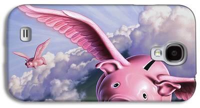 Piggy Bank Galaxy S4 Cases