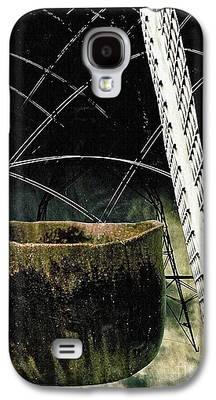 Ceramic Mixed Media Galaxy S4 Cases