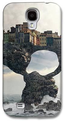 Towns Digital Art Galaxy S4 Cases