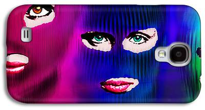 Free Speech Paintings Galaxy S4 Cases