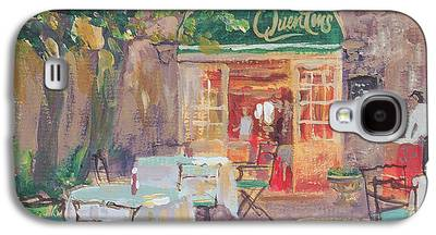 Empty Chairs Paintings Galaxy S4 Cases